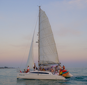 Private sailboat charter in Key West