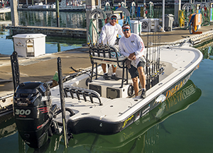 bay boats for fishing the flats and backcountry waters of Key West a Yellowfin 2 bay boat