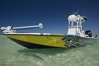 Yellowfin bay boat 24 Tower edition