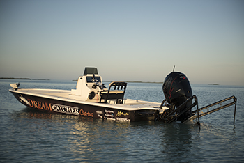 Yellowfin Carbon Elite Bay boat 24. Powered by Mercury Racing 400r Verado